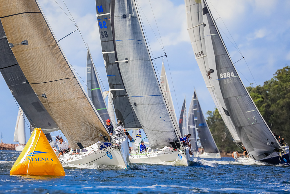 Commodore's Cup Day 3, Sail Port Stephens. Picture © Salty Dingo 2017 @saltydingomedia