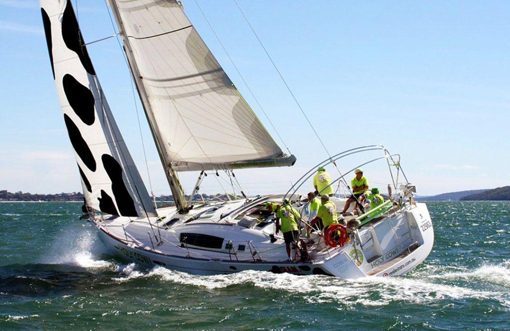 Sail Port Stephens Holy Cow