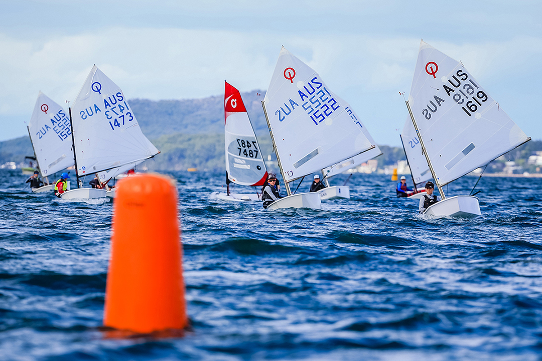 Junior One-Sail, Hosted By Corlette Point Sailing Club, 2016 Sail Port Stephens. Picture Craig Greenhill/ Saltwater Images
