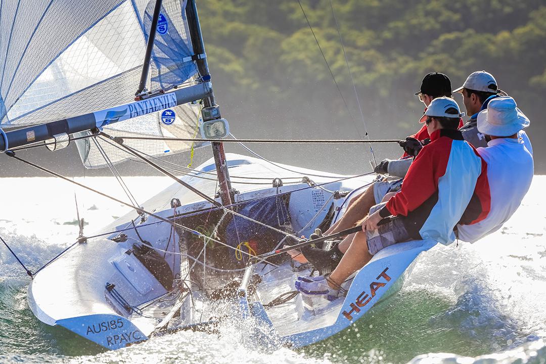 Heat, Pantaenius Port Stephens trophy, Sail Port Stephens 2016. Picture Craig Greenhill/Saltwater Images