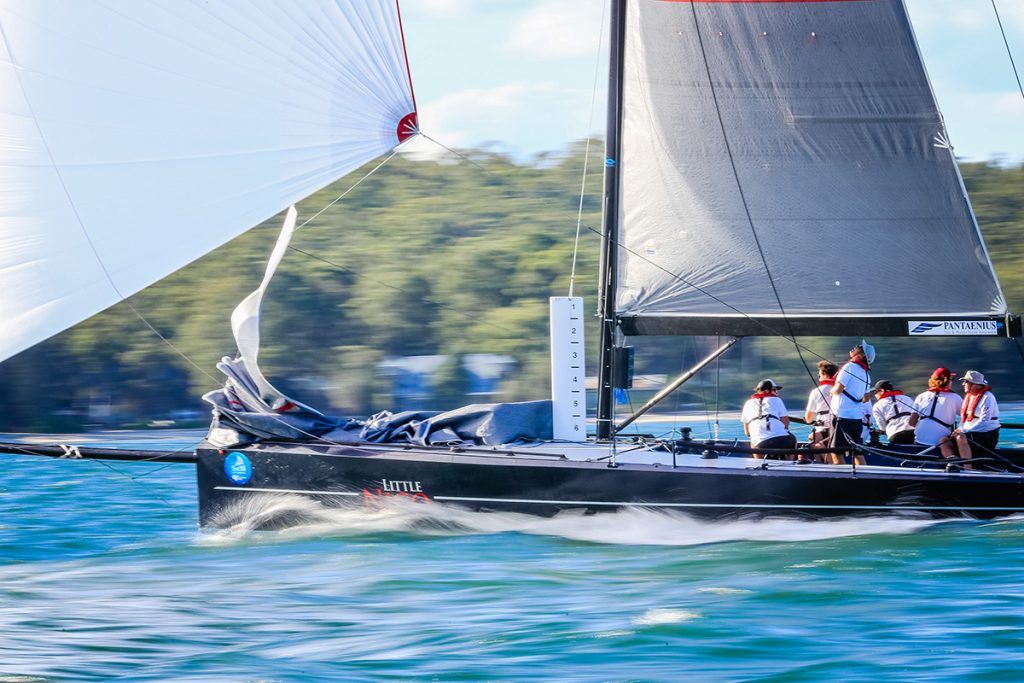 Little Nico, Pantaenius Port Stephens trophy, Sail Port Stephens 2016. Picture Craig Greenhill/Saltwater Images
