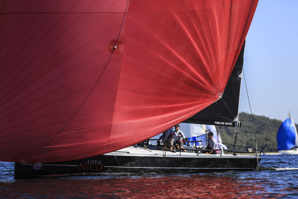 Sail Port Stephens 2021_Bannisters Port Stephens Commodores Cup Day 1_Little Nico