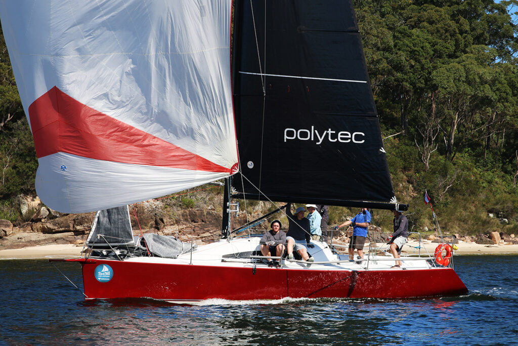 Sail Port Stephens 2021_Bannisters Port Stephens Commodores Cup Day 1_Sofarr